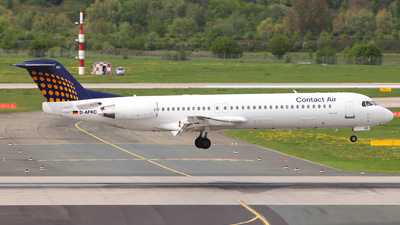 D-AFKC - Fokker 100 - Contact Air