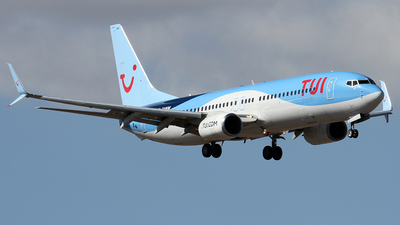 A picture of GTAWM - Boeing 7378K5 - TUI fly - © Alfonso Solis