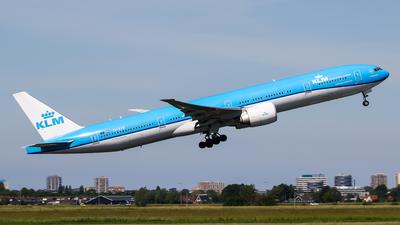 PH-BVR - Boeing 777-306ER - KLM Royal Dutch Airlines