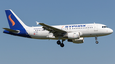 TS-IEG - Airbus A319-112 - Syphax Airlines