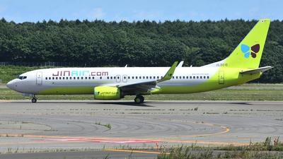 HL8015 - Boeing 737-8SH - Jin Air
