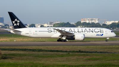 A picture of JA899A - Boeing 7879 Dreamliner - All Nippon Airways - © Sieu Viet - SFAP