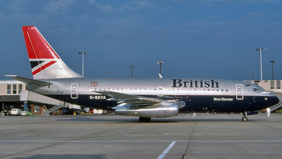 G-BKYA - Boeing 737-236(Adv) - British Airways