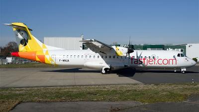 F-WNUA - ATR 72-212A(600) - Fastjet