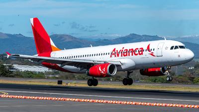 N490TA - Airbus A320-233 - Avianca Central America