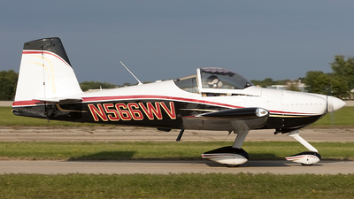 N566WV - Vans RV-7A - Private