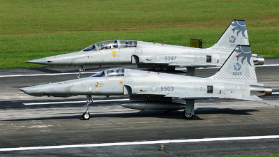 5503 - Northrop RF-5E Tigereye - Taiwan - Air Force