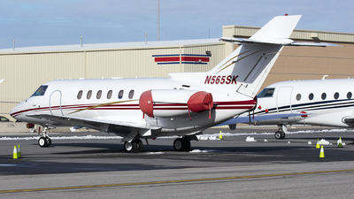 N565SK - Raytheon Hawker 800XP - Private