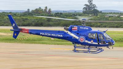 PR-GPM - Helibrás AS-350B2 Esquilo - Brazil - Military Police