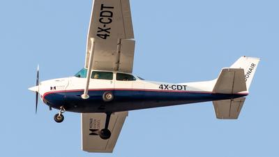 4X-CDT - Cessna 172M Skyhawk - MoonAir