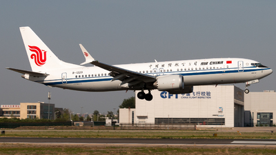 B-1223 - Boeing 737-8 MAX - Air China