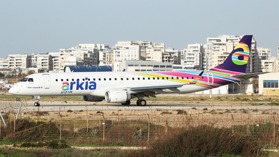 4X-EMF - Embraer 190-200LR - Arkia Israeli Airlines