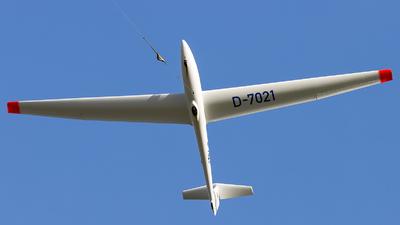 D-7021 - Schleicher ASK-21 - Luftsportverein Illertissen