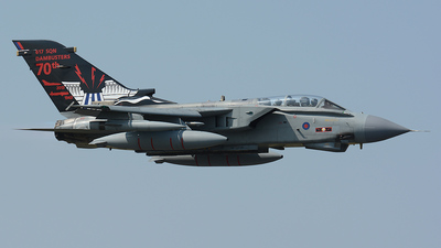 ZA492 - Panavia Tornado GR.4 - United Kingdom - Royal Air Force (RAF)