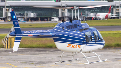 117 - Bell 206B JetRanger III - Guatemala - Air Force
