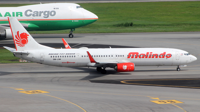 9M-LNK - Boeing 737-9GPER - Malindo Air