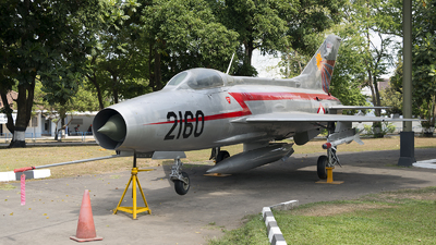 2160 - Mikoyan-Gurevich MiG-21F-13 Fishbed C - Indonesia - Air Force