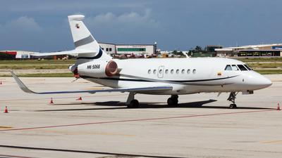 HK-5068 - Dassault Falcon 2000S - Helistar Colombia