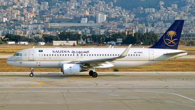 HZ-AS52 - Airbus A320-214 - Saudi Arabian Airlines