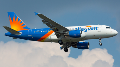 A picture of N314NV - Airbus A319111 - Allegiant Air - © Donald  E Moore