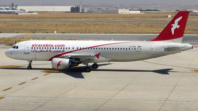 JY-PTD - Airbus A320-214 - Air Arabia Jordan