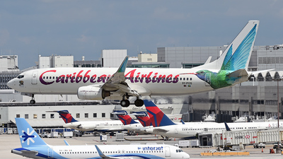 9Y-POS - Boeing 737-8Q8 - Caribbean Airlines