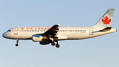 C-FDSU - Airbus A320-211 - Air Canada