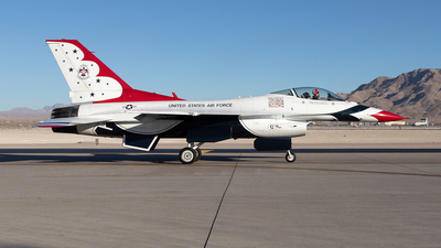 92-3908 - General Dynamics F-16C Fighting Falcon - United States - US Air Force (USAF)