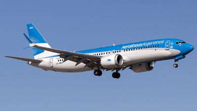 LV-HKU - Boeing 737-8 MAX - Aerolíneas Argentinas