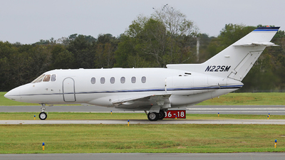 N22SM - Hawker Beechcraft 800XP - Canal Air