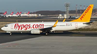 A picture of TCCPU - Boeing 73786N - Pegasus Airlines - © Furkan Borakazi