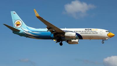 A picture of HSDBK - Boeing 73786J - Nok Air - © Jack  Li