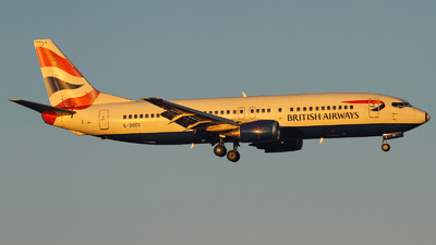 G-DOCV - Boeing 737-436 - British Airways