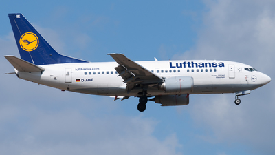 D-ABIE - Boeing 737-530 - Lufthansa