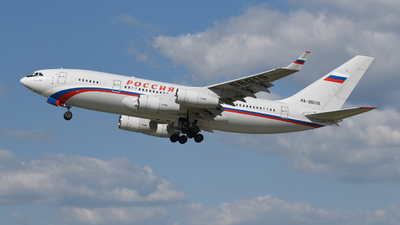 A picture of RA96019 - Ilyushin Il96300 - Rossiya  Special Flight Squadron - © David Blažek