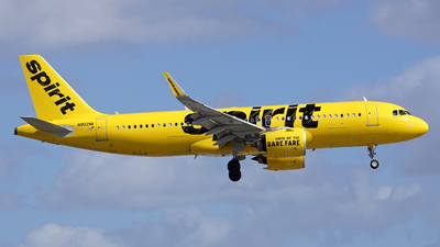 A picture of N902NK - Airbus A320271N - Spirit Airlines - © Filipe Couceiro