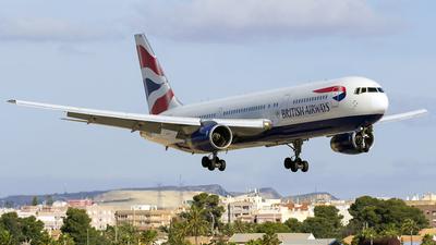 G-BZHA - Boeing 767-336(ER) - British Airways