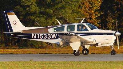 N1533W - Beechcraft G33 Bonanza - Private
