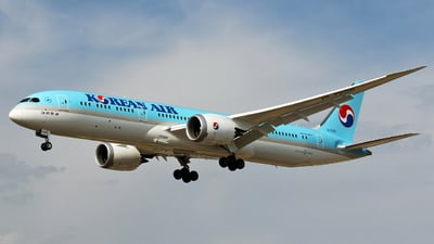 HL7206 - Boeing 787-9 Dreamliner - Korean Air