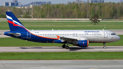 A picture of VQBHL - Airbus A320214 - Aeroflot - © Ivan Goreza