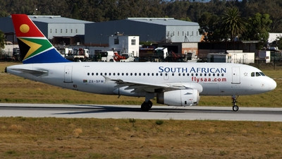 A picture of ZSSFM - Airbus A319131 - [2469] - © Austin Ferreira