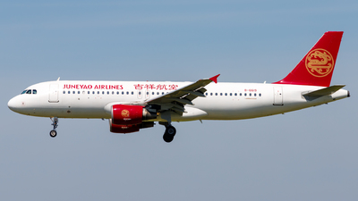 A picture of B6619 - Airbus A320214 - Juneyao Airlines - © H.C.