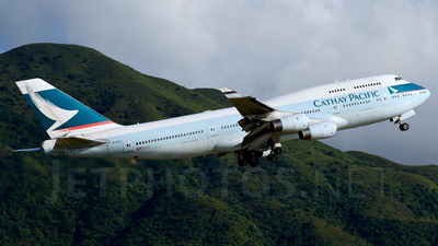 B-HOV - Boeing 747-467 - Cathay Pacific Airways