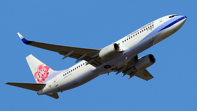 B-18653 - Boeing 737-8Q8 - China Airlines