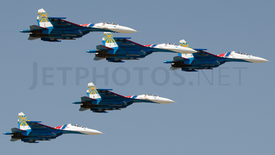 24 - Sukhoi Su-27 Flanker - Russia - Air Force