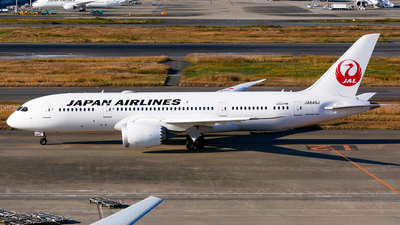 JA849J - Boeing 787-8 Dreamliner - Japan Airlines (JAL)