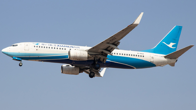 A picture of B5162 - Boeing 73785C - Xiamen Air - © faks