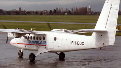 PH-DDC - De Havilland Canada DHC-6-100 Twin Otter - Travel Air