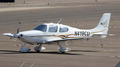 A picture of N419CD - Cirrus SR22 - [1377] - © Joshua Ruppert