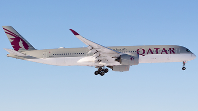 A picture of A7ALG - Airbus A350941 - Qatar Airways - © Andre_S